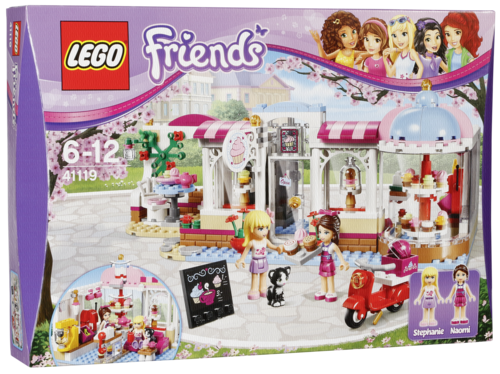 "LEGO ""LEGO 41119 - Friends - Il Cupcake Cafe' Di Heartla"""