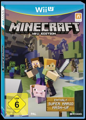 Wiiu Minecraft Wiiu Inkl Super Mario Mashup Dlc NINTENDO OF - Minecraft computerspiele