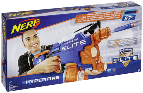 Hasbro - Nerf N-strike Elite Hyper-fire Blaster - Hasbro ...
