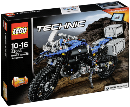 "LEGO ""LEGO Technic 42063 BMW R 1200 GS Adventure"""