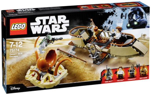 "LEGO ""LEGO Star Wars 75174 Desert Skiff Escape"""
