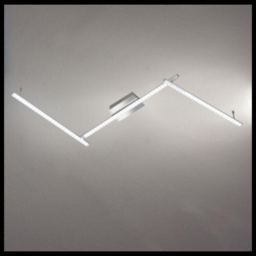 wofi leuchten wofi led deckenleuchte clay 3xled 10w festverbaut 820 lm wofi leuchten. Black Bedroom Furniture Sets. Home Design Ideas