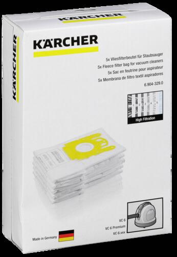Staubsaugerbeutel Kärcher Vliesfilterbeutel 6.904-329.0