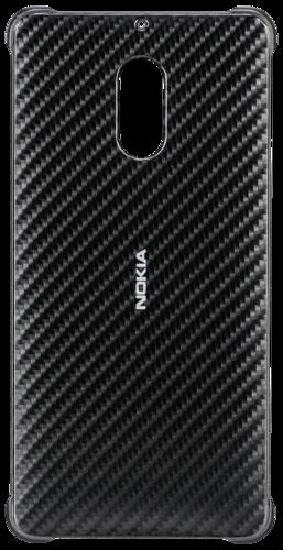 sports shoes 2a727 e4c03 Nokia Carbon Fibre Design Case CC-802 for Nokia 6 Onyx Black