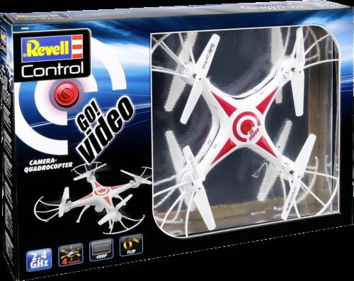 Revell Control Go Video Quadrocopter Rtf Kameraflug 23858 Revell Toys Spielzeug Grooves Inc