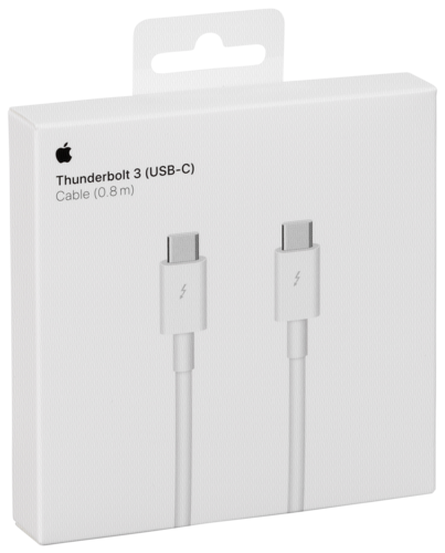 Apple Thunderbolt 3 (USB‑C) Cable (0 8 m)