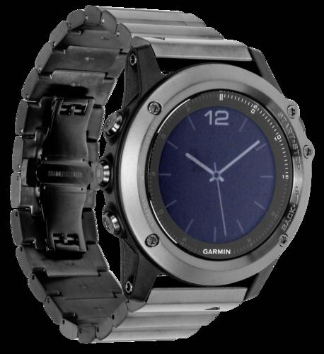 Garmin Fenix 3 Saphir Hr Edelstahl Armband Grau Garmin Hardware