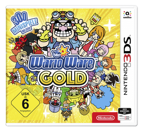 3ds Wario Ware Gold 3ds Nintendo Accessories Grooves Inc