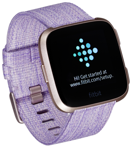 Fitbit versa special edition lavender woven/rose gold aluminum   Buy