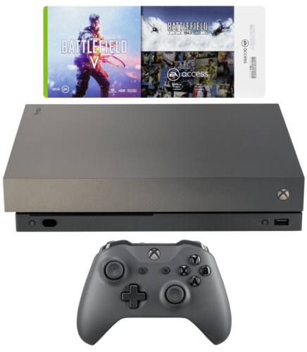 xbox one x gold rush special edition bundle