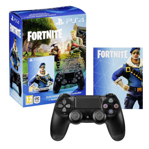 Ps4 Controller Org  Fortnite Ed  Wireless Dual Shock 4 Schwarz [EU-Version]