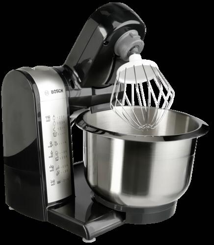Bosch Mum 48a1 Multifunktions Kuchenmaschine Anthrazit Silber