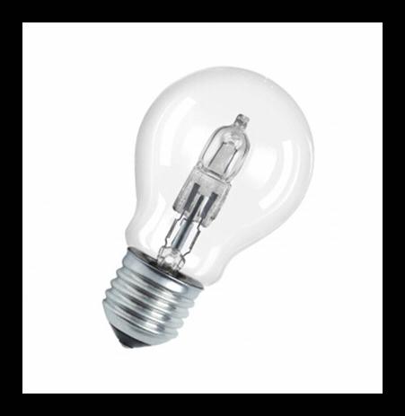 Osram Halogen Classic Lampe E27 46w 60w Warmweiss 700lm Osram