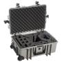 "B&w International""B&W Copter Case Type 6700/G grau mit DJI Phantom 3 Inlay"""