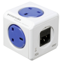 "Allocacoc ""PowerCube Original USB UK Type G blue"""
