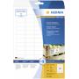 """Herma""""Power Etik. weiß 35,6x16,9 25 Bl. DIN A4 2000 Stück 10901"""""""
