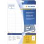 "Herma""Movables Etik. 45,7x21,2 25 Blatt DIN A4 1200 Stück 4346"""