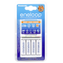 "Eneloop""Panasonic Eneloop Smart & Quick Charger BQ-CC55 + 1x4 AA 1900mAh"""