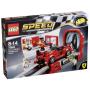 """LEGO""""Speed Champions 75882 Ferrari FXXK&Entwicklungszentrum"""""""