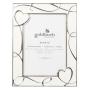 "Goldbuch""Hearts creme 13x18 Metallrahmen Portrait 960243"""