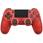 "Joypad Sony Dualshock 4 Wireless Controller Rot V2 (2016) ""DualShock 4 v2 - Game Pad - kabellos - Bluetooth - Magma (rot) - für Sony PlayStation 4"""