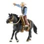 "Schleich""Farm World 41416 Saddle bronc riding mit Cowboy"""