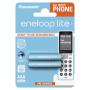"Eneloop""1x2 Panasonic Eneloop Lite DECT Micro AAA 550 mAh BK-4LCCE/2DE"""