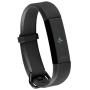 """Fitbit""""Fitbit Alta HR - Special Edition - Waffenmetall - Aktivitätsmesser mit Band - schwarz - S - einfarbig - 23 g"""""""