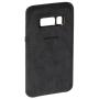 "Samsung""Alcantara Cover EF-XG950 für Galaxy S8 Silver/Gray"""