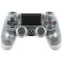 "Sony ""DualShock 4 Wireless Controller PlayStation 4 PS4 crystal translucent V2 [DE-Version]"""