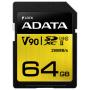 """A-data""""SDXC UHS-II U3 Class 10 64GB Premier One"""""""