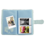 "Fuji""Instax La Porta Mini Album ice blue für 108 Bilder"""