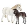 """Schleich""""Farm World 42423 Pony Stute und Fohlen"""""""