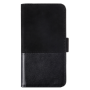 "Holdit ""Selected Wallet Case for iPhone X Black leather suede"""
