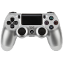 "Joypad Sony Dualshock 4 Wireless Controller Silber V2 (2017)""DUALSHOCK 4 Wireless Controller v2, Gamepad"""