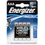 "Energizer ""1x4 ENERGIZER Ultimate Lithium Micro AAA LR 03 1,5V"""