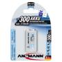 """Ansmann""""270mAh 9V E-Block maxE plus, Akku"""""""