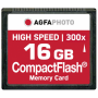 "Agfaphoto""Compact Flash 16GB High Speed 300x MLC"""