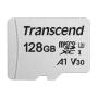 "Transcend""microSDXC 300S 128GB Class 10 UHS-I U3 V30 A1"""
