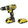 """Dewalt""""DeWALT DCD795D2-QW - Bohrhammer/Treiber - kabellos - 2 Geschwindigkeiten - Bohrfutterschlüssel 13 mm - 60 N·m - 2 Akkus - 1"""""""