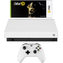"Microsoft ""Xbox One X Konsole 1TB Robo White Special Edition inkl. Fallout 76"""