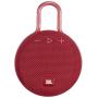 """Jbl Harman""""JBL Clip 3 - Lautsprecher - tragbar - kabellos - Bluetooth - 3.3 Watt - Rot"""""""