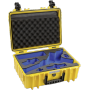 "B&w International""B&W Outdoor Case Type 5000/Y gelb mit DJI Ronin S Inlay"""