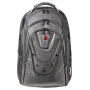 "Wenger ""Ibex Notebook Rucksack 17,3 Black Leather 125th [DE-Version, German Keyboard]"""