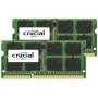 """Crucial""""8GB DDR3L 1866 MT/s Kit 4GBx2 SODIMM 204pin for Mac"""""""