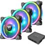 "Thermaltake""LÜ 120x120 Thermaltake Riing Trio 12 LED RGB Radiator TT Premium Edition (3er-Pack)"""