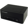 "Dockingstation Lc-power Usb 3.0 2-bay 2, 5/3, 5hdd/ssd + Hub ""LC-POWER USB3.0 HDD Docking Station (LC-DOCK-U3-CR)"""