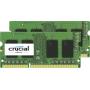 """Crucial""""- DDR3 - 32 GB : 2 x 16 GB - SO DIMM 204-PIN - 1600 MHz / PC3-12800 - CL11 - 1.35 V - ungepuffert - nicht-ECC (CT2KIT204864BF160"""""""