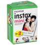 "Fujifilm""1x2 Fujifilm instax mini Film white frame"""