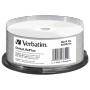 "Verbatim""1x25 Verbatim BD-R Blu-Ray 50GB 6x Speed printable Cakebox"""